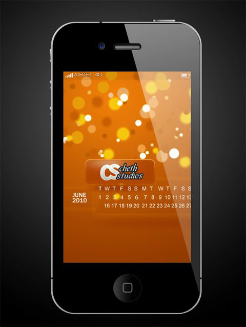 iPhone4psd